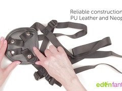 Beginner pegging set. Harness and dildo set