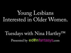 Tuesdays with Nina - Young Lesbians Interested in Older Women.