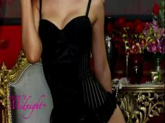 Solitaire Bustier Set by Seven 'til Midnight - Commercial