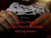 Sex and Mischief Breathable Ball Gag Review
