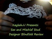 Sex and Mischief Stud Designer Blindfold Review