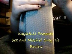 Sex and Mischief Grey Tie Restraints Review